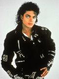 Michael Jackson, Engelse tekst: King of Pop Premium fotoprint