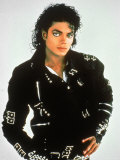 Michael Jackson Fotografiskt tryck på högkvalitetspapper