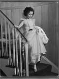 Shirley Temple at Bel Air Country Club at Her 11th Birthday Party Premium Photographic Print by Peter Stackpole