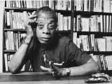 James Baldwin Metal Print by Ted Thai