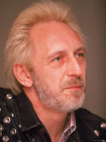 Portrait of John Entwistle, Bassist for the Who Premium Photographic Print