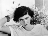 Early Undated Photo of French Fashion Designer Coco Chanel Premium Photographic Print