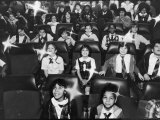 Children Watching the Christmas Show at the Hayden Planetarium Premium Photographic Print by Ted Thai