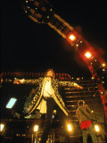 Mick Jagger During a Performance by the Rolling Stones Premium Photographic Print