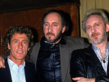 Member of the Who: Roger Daltrey, Pete Townshend and John Entwistle Kunst på metall