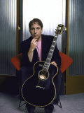 Portrait of Singer and Songwriter Paul Simon Premium Photographic Print by Ted Thai
