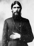 Russian Monk Gregory Rasputin Who Was Also Advisor to Wife Russian Empress Alexandra Premium Photographic Print