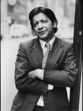 V.S. Naipaul Premium Photographic Print by Ted Thai