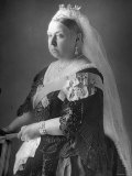 Queen Victoria at Her Diamond Jubilee Premium Photographic Print