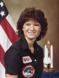 Sally Ride, astronaut who became first Amer. woman in space aboard Space Shuttle Challenger II, Photographic Print