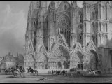Gothic Cathedral of St. Etienne, from France Illustrated, with Drawings by Thomas Allom Photographic Print