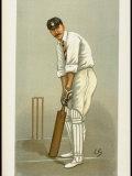 Captain of the Hampshire Cricket Club Edward Wynyard from English Periodical Vanity Fair Premium fotografisk trykk