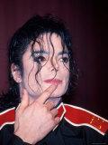 Michael Jackson Premium-Fotodruck von Kevin Winter