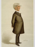 American Physician and Author Oliver Wendell Holmes, by Spy from English Periodical Vanity Fair, Photographic Print