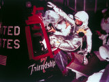 Astronaut John Glenn Climbing Into Friendship 7 Craft for Mercury 6 Launch Premium Photographic Print