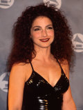 Gloria Estefan in Press Room at Grammy Awards Premium Photographic Print