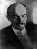 Russian Communist Leader Vladimir Lenin Premium Photographic Print