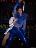 Paula Abdul Performing at Aids Dance a Thon Premium Photographic Print by Mirek Towski