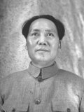 Chinese Communist Leader Mao Tse Tung Reproduction photographique sur papier de qualité par Jack Wilkes