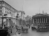 "Threadneedle Street Front of ""Old Lady of Threadneedle Street,"" Showing the Bank of London Building Premium Photographic Print by Hans Wild"