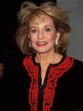 Television Journalist Barbara Walters Premium Photographic Print