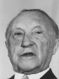 Konrad Adenauer After Defeat in W. German Elections Premium Photographic Print by Stan Wayman