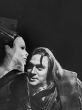 Jill Dixon and Christopher Plummer in Scene from Shakespeare's Richard III Premium Photographic Print by Hank Walker