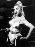 Madonna during Her Blonde Ambition Tour Metalldrucke
