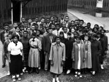Students Who Took Part in Strike Against Inadequate African American Schools Premium Photographic Print by Hank Walker