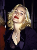 Madonna in Dark Red Lipstick Premium Photographic Print