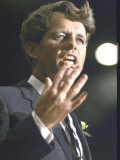 Senator Robert F. Kennedy Campaigning for Local Democratics in New York State Premium Photographic Print by Bill Eppridge