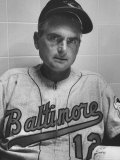 Baltimore Orioles Manager Paul Richards Premium Photographic Print by Hank Walker