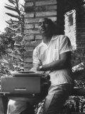 Author Ralph Ellison at Workshop American Academy Premium Photographic Print by James Whitmore