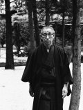 Founder of Matsushita Electronics, Konosuke Matsushita Impressão fotográfica premium por Bill Ray