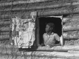 Poverty of Rural South Recorded for the Historical Section of the Resettlement Administration Premium Photographic Print by Arthur Rothstein