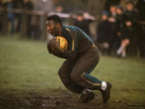 Soccer Star Pele in Action During a Practice for the World Cup Competition Premium Photographic Print by Art Rickerby