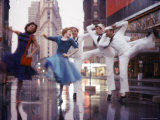 "Original Cast of the Ballet ""Fancy Free'"" Premium Photographic Print by Gordon Parks"