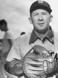 "Red Sox George ""Birdie"" Tebbetts Premium Photographic Print by Frank Scherschel"