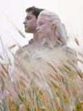 Sal Mineo and Jill Haworth in Scene from Exodus Premium-Fotodruck von Gjon Mili