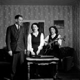 Country and Western Music Carter Family A.P. Carter, Wife Sara and Sister in Law Maybelle Carter Premium Photographic Print by Eric Schaal