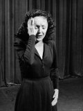 Edith Piaf Premium Photographic Print by Gjon Mili