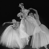 "Triple Exposure of Ballerina Alicia Markova as Bluebird in the Production of ""The Sleeping Beauty"", Photographic Print"