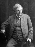 G. K. Chesterton Premium Photographic Print by  Speaight