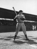 Joe DiMaggio at Bat Premium Photographic Print by Carl Mydans