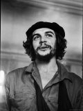 "Cuban Rebel Ernesto ""Che"" Guevara with His Left Arm in a Sling Metal Print by Joe Scherschel"