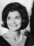 Jacqueline Kennedy, Wife of Sen./Pres. Candidate John Kennedy During His Campaign Tour of TN Premium Photographic Print by Walter Sanders