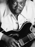 B.B. King Premium Photographic Print by John Shearer