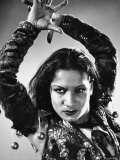 Spanish Flamenco Dancer Carmen Amaya Performing Premium-Fotodruck von Gjon Mili