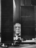 German Architect Mies Van Der Rohe and his Modern Apartment Buildings Designed for Lake Shore Drive Premium Photographic Print by Frank Scherschel