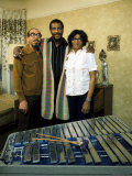 Ritchie Havens with Parents Premium Photographic Print by John Olson